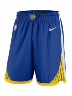 NBA GSW M NK SWGMN SHORT ROAD