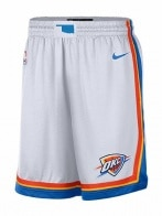 NBA OKC M NK SWGMN SHORT HOME