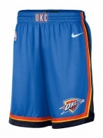 NBA OKC M NK SWGMN SHORT ROAD