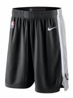 NBA SAS M NK SWGMN SHORT ROAD 19