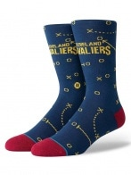 STANCE CAVALIERS PLAYBOOK NAVY L