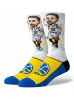 STANCE CURRY BIG HEAD BLUE L