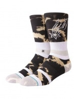 STANCE SPURS ACID WASH BLACK L