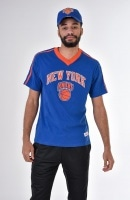 NBA OVERTIME WIN V-NECK TEE NYKNIC